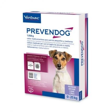 Prevendog Coleira Cão 0-25kg 1 Coleira 60cm