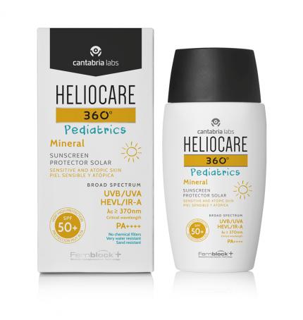 Heliocare 360º Pediatrics Mineral SPF 50+ Frasco 50 ml