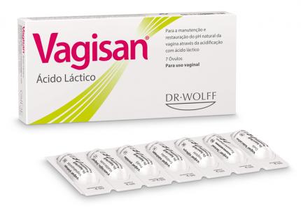 Vagisan ácido láctico 7 óvulos