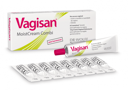 Vagisan Combi 8 óvulos + 10g