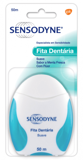 Fita dentária Sensodyne 50m