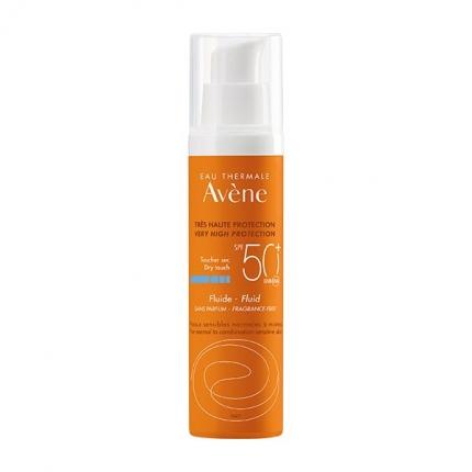 Avène Solares Fluído Spf 50+ Sem Perfume 50 ml