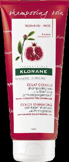 Klorane Capilar Champô Cuidado Sem Sulfato Romã 200 ml
