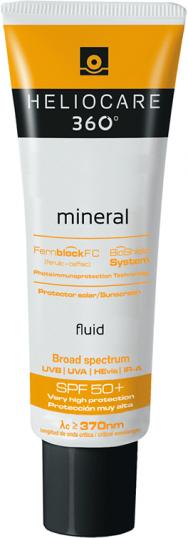 Heliocare 360º Fluido Mineral SPF 50+ Tubo 50 ml