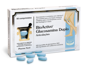 BioActivo Glucosamina Duplo 60 Comp.